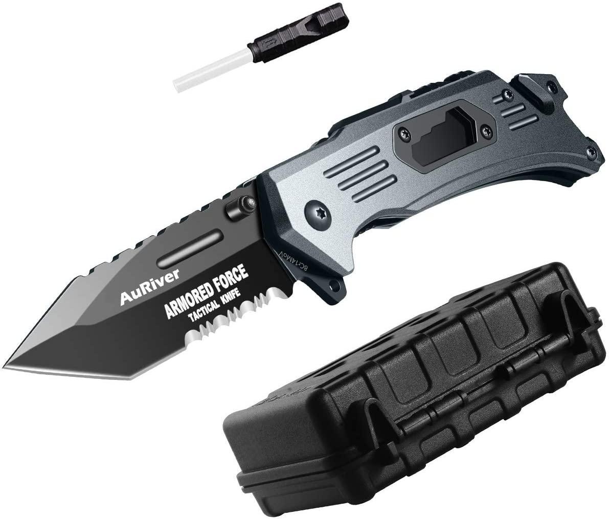Couteau de plongée l/'apnée 9 avec schäkellöster matière plastique avec fourreau beingurt