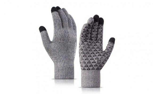Gants Femme /à Ecrans Tactiles Gants Hiver Chaud