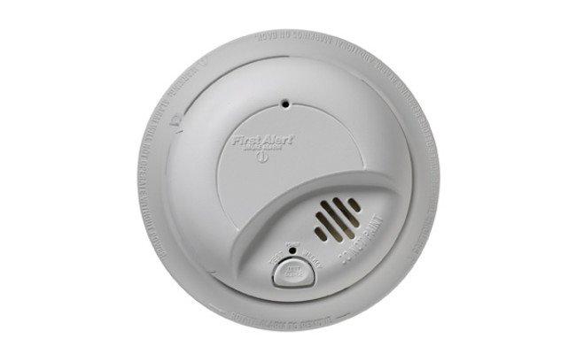 D/étecteur de fum/ée Protection Efficace Contre Les Fausses alarmes d/étecteur de fum/ée am/élior/é avec capteur photo/électrique