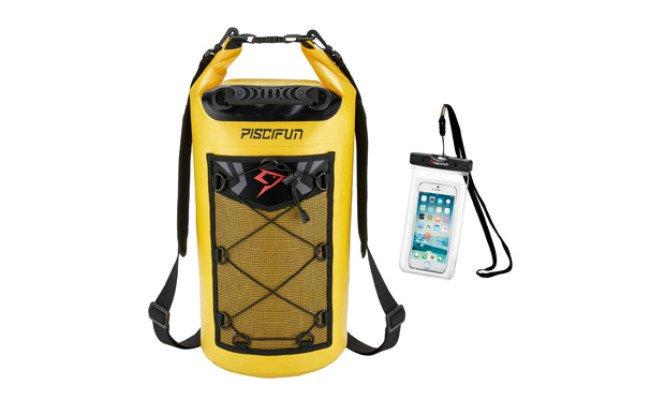 Par-dessus bord étanche 1 l Dry Pouch 4-Pack camping Sacs